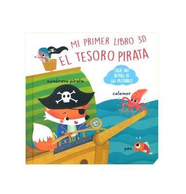 Mi primer libro 3D, El Tesoro Pirata