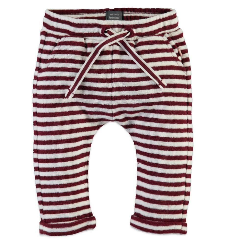 PANTALON BABY FACE - Pantalón de pants rayado para niña