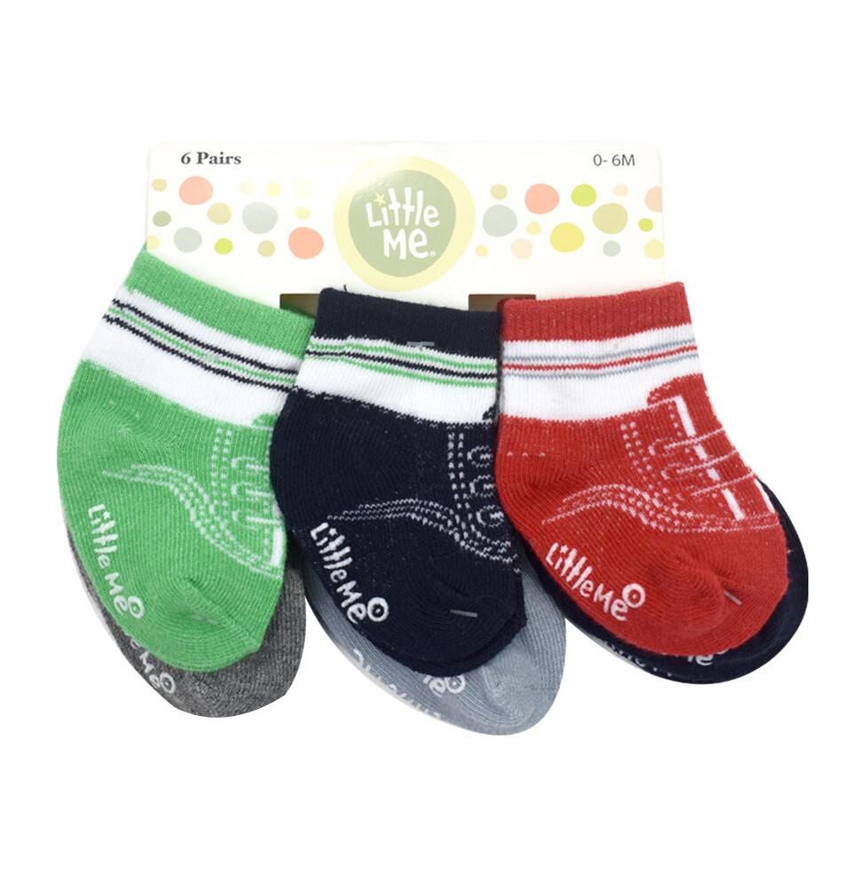LITTLE ME - 6 pares de calcetines Sneakers - Niño
