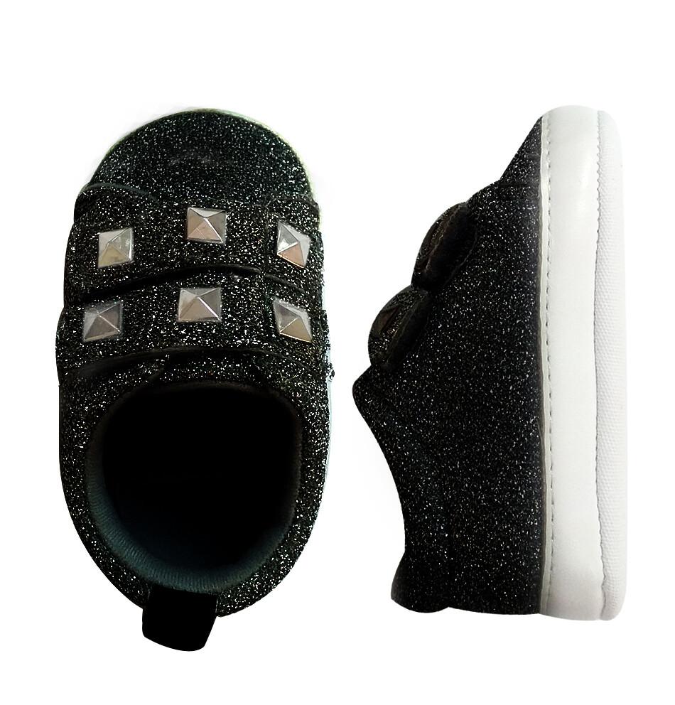 FIRST STEP - Zapato casual cinchos con velcro - Niña