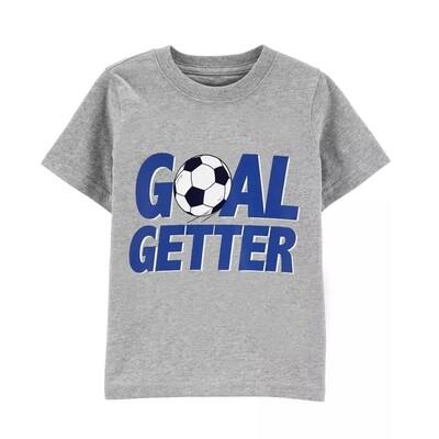 T-SHIRT CARTERS - para niño m/c GOAL GETTER