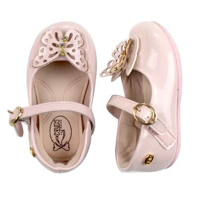 KLIN - Cravinho Princess - casual/vestir rosado claro con mariposa