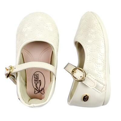 KLIN - Cravinho Princess - casual/vestir enguatado blanco