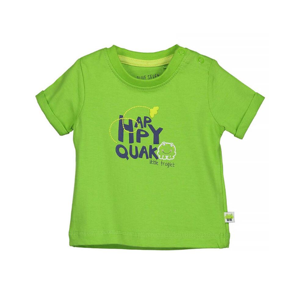 T-SHIRT BLUE SEVEN - m/c verde, niño, Little Frog