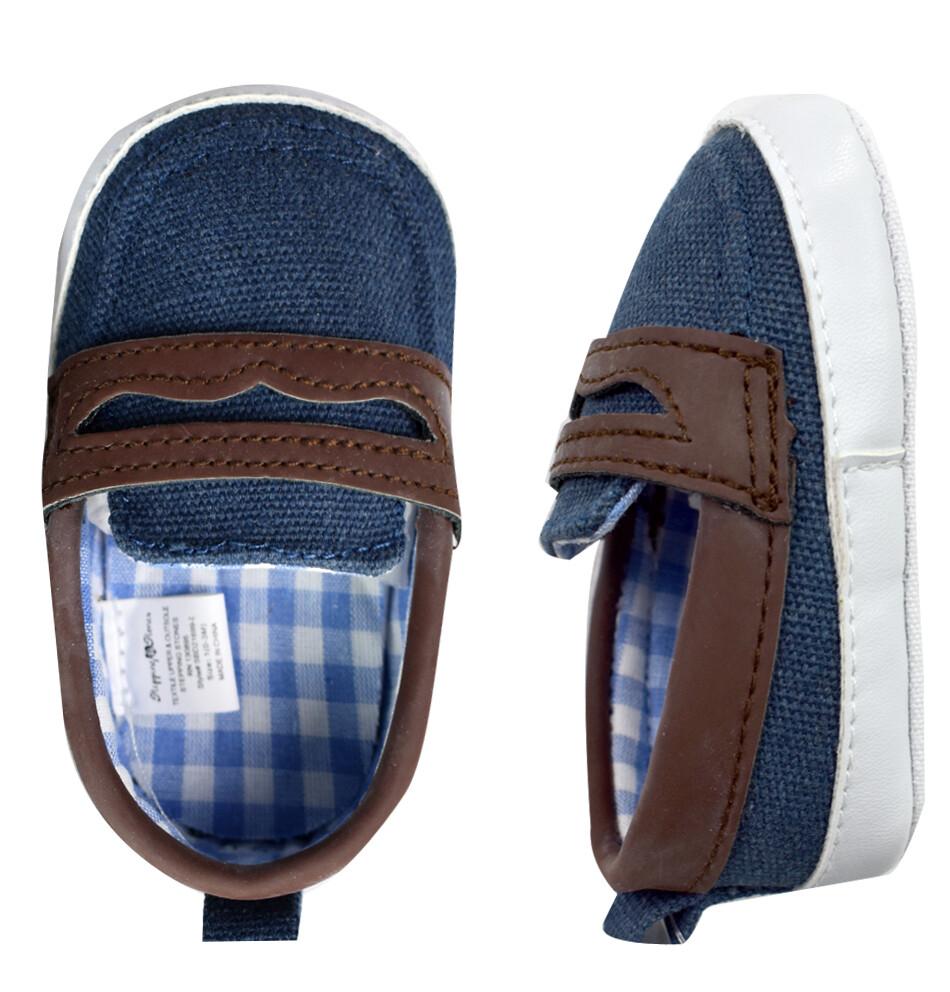STEPPING STONES - Zapato de vestir de lona con ribete de cuero