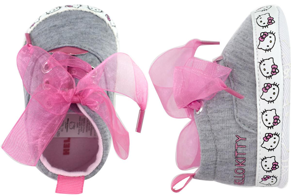 LITTLE ME - Zapato casual con cintas de organza Hello Kitty