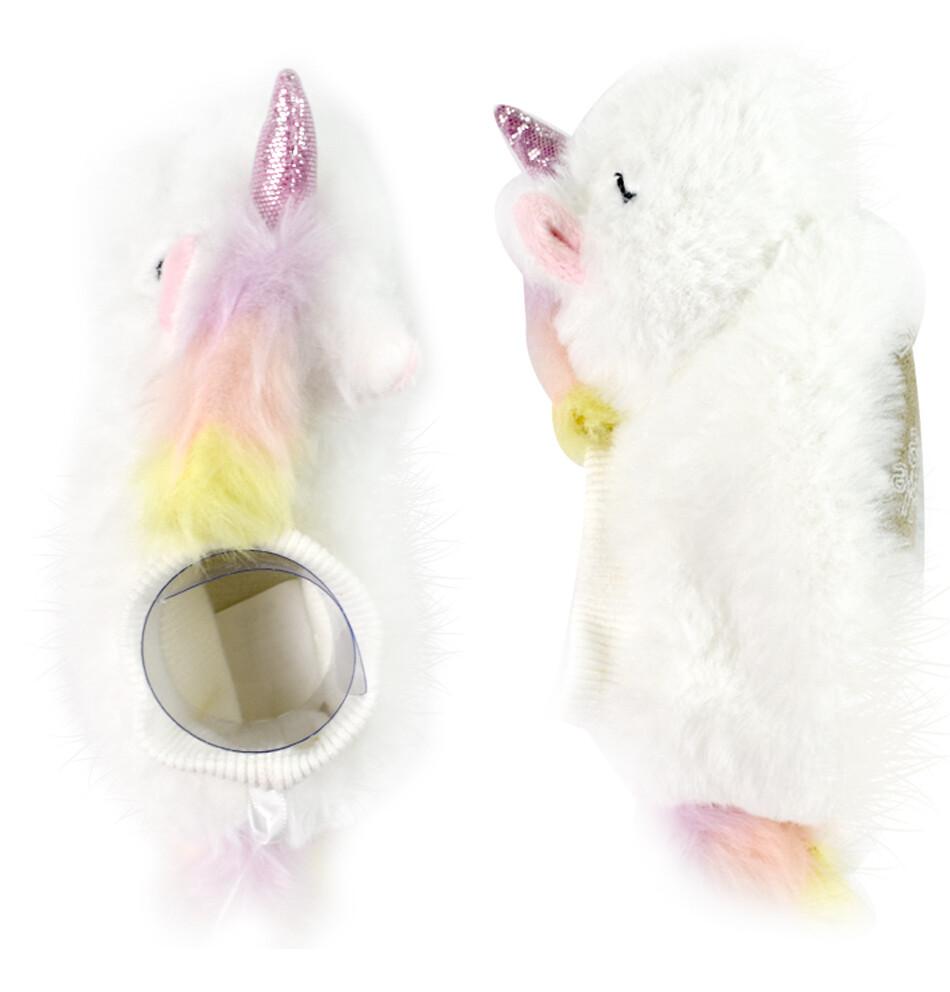 LITTLE ME - Pantuflas blancas con unicornio