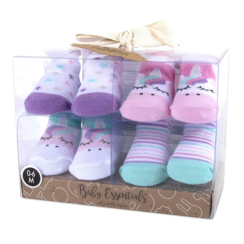 AD SUTTON - 4 pack botties unicornio niña