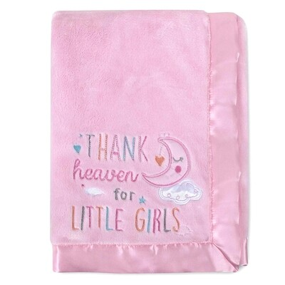 FRAZADA AD SUTTON -  Thanks heaven rosada