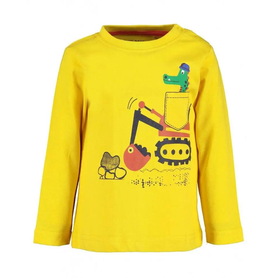 T-SHIRT BLUE SEVEN - m/l amarilla diseño de Vehículos, VEHICLES