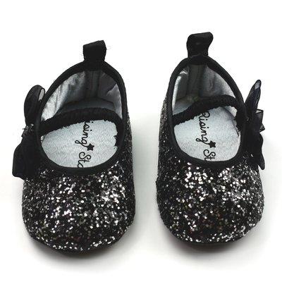 RISING STARS - Zapato casual negro y plateado - Niña