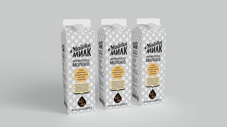 Молоко Майти Милк пастеризованное