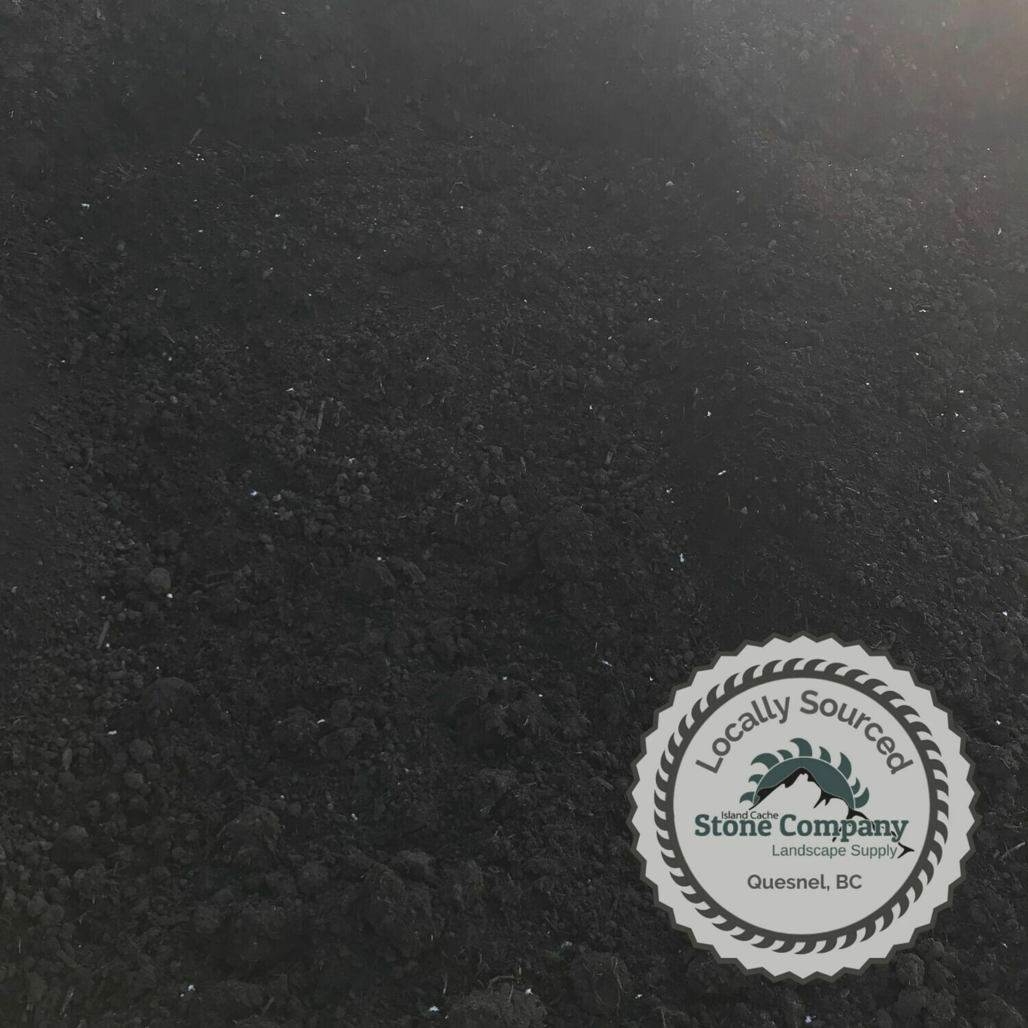 Black Peat Moss - (by the cubic yard)