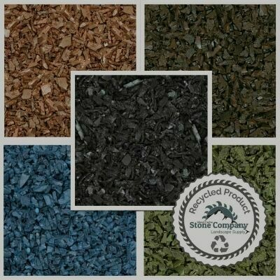 Rubber Mulch - (2.85 cu.yd Supersack)