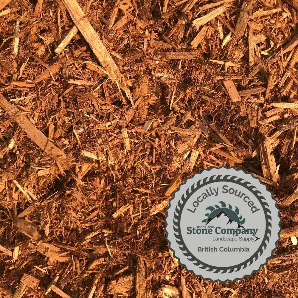 Cedar Shredded Mulch - (5.5 cu.yd. Bale)