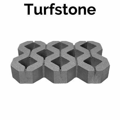Turfstone (0.39 units/sq.ft)