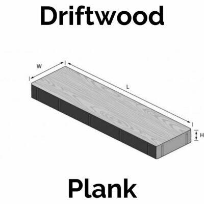 Wood Grain Paver - Driftwood (1.33 units/sq.ft)