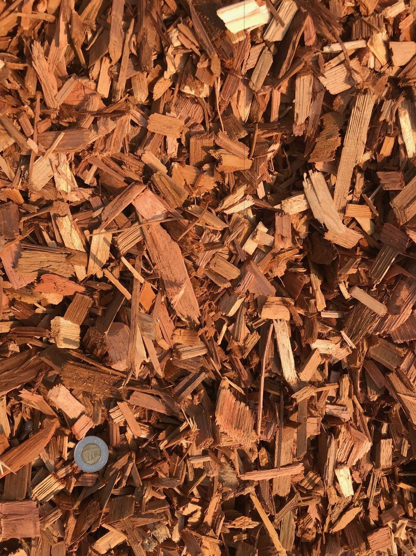 Cedar Wood Chips - (by 4.8 cu.yd. bale)