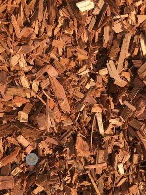 Cedar Wood Chips - (by the cubic yard)