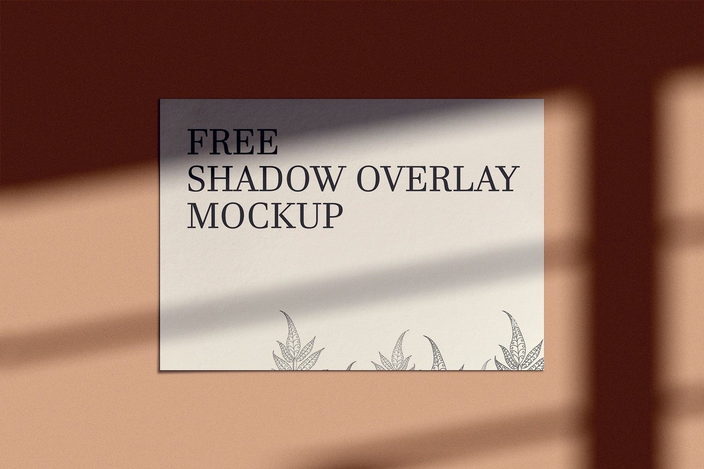 Shadow Overlay Mockup Free Download