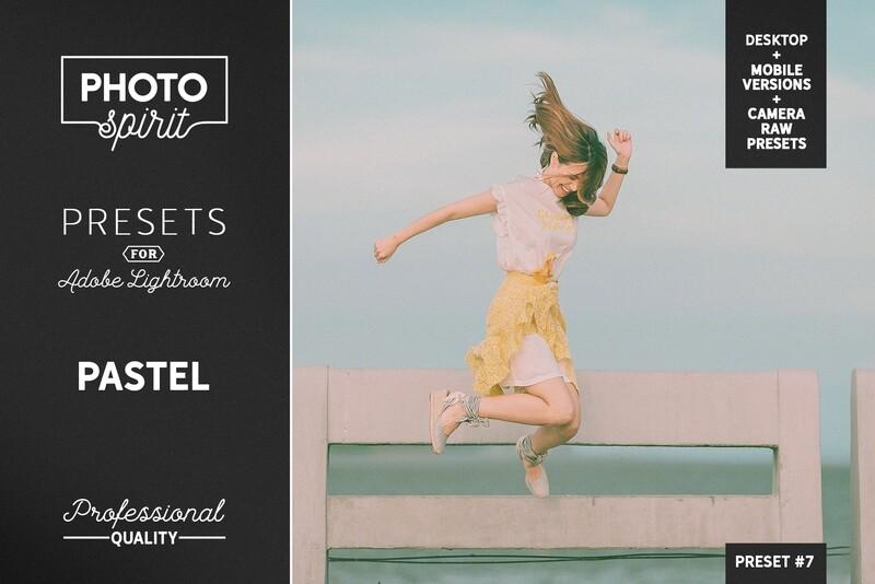 Pastel LR Presets Mobile + Desktop