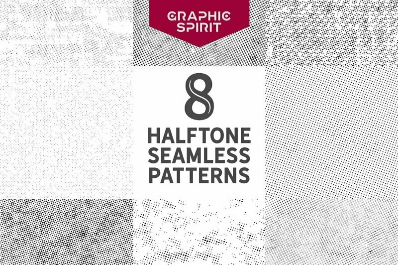 Seamless Halftone Dot Patterns