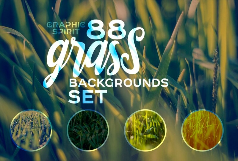 Natural HD Grass Backgrounds