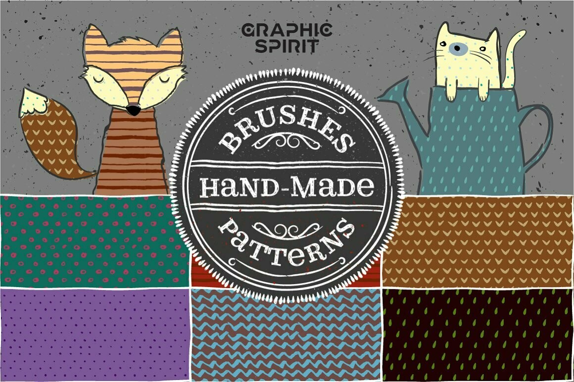 Hand Made Brushes & Patterns