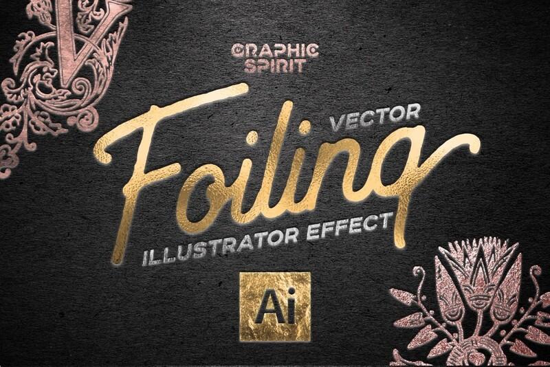Vector Foil TOOLKIT For Illustrator