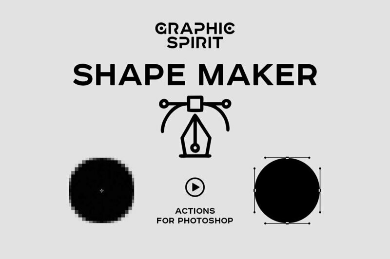 Path & Shape Maker for Photoshop