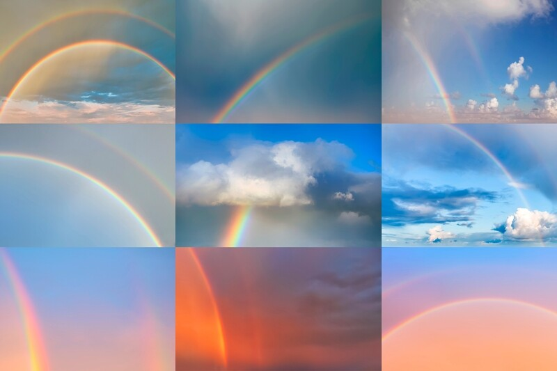 Rainbow Sky Replacement Pack