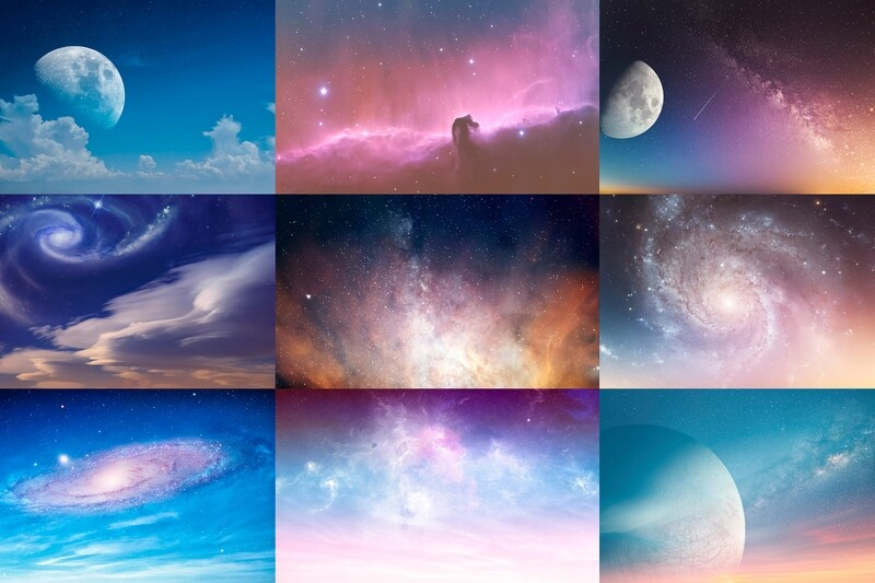 Fancy Sky Replacement Pack