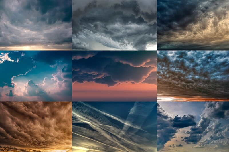 Dramatic Sky Replacement Pack
