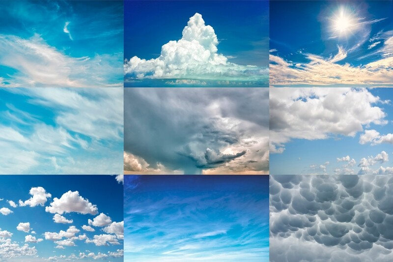Clouds Sky Replacement Pack