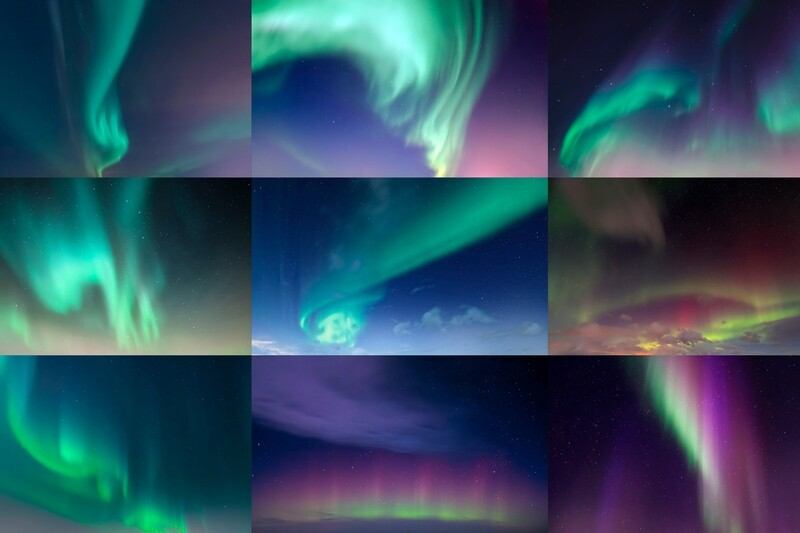 Northern Lights Aurora Borealis Sky Replacement