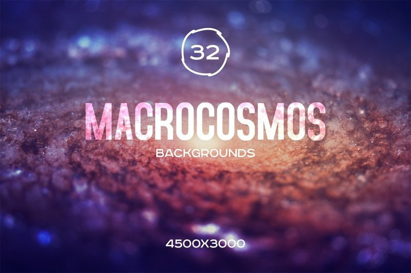 Macrocosmos Galaxy Backgrounds Set