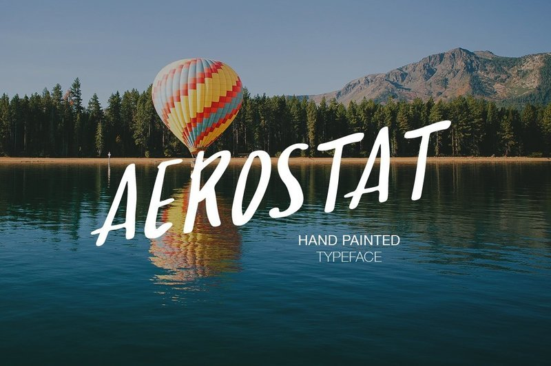 Aerostat Script Font