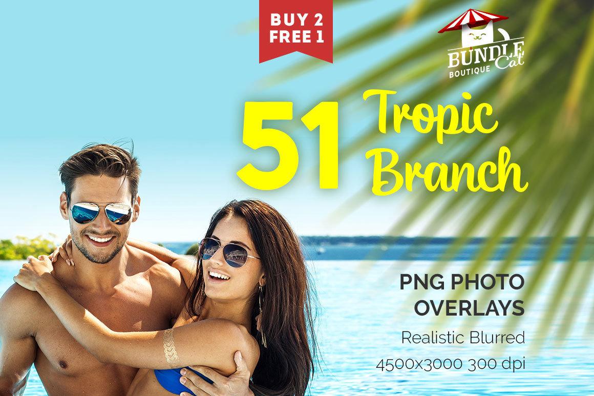 51 Tropic Brunch Overlays