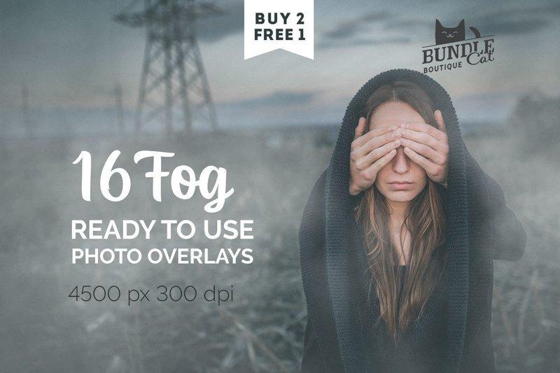 16 Fog Overlays