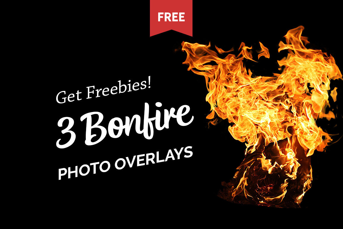 Free Bonfire Photo Overlays