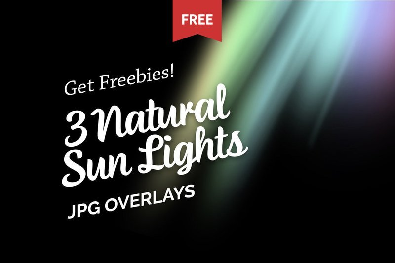 Free Natural Sun Lights Photo Overlays