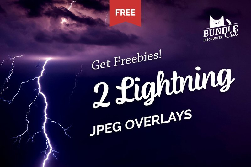 Free Lightning Photo Overlays