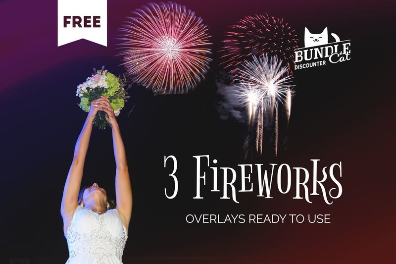 Free Firework Photo Overlays