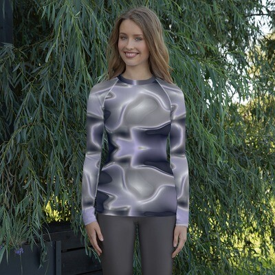 Antique Silver:  Rashguard for Women