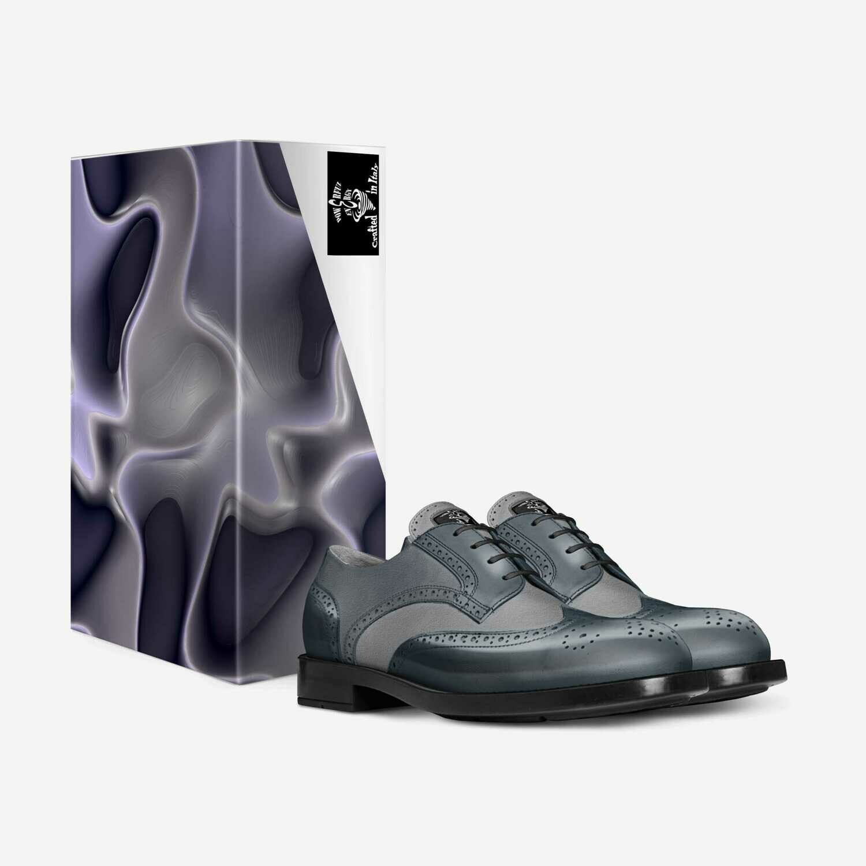 Antique Silver:  Classic Derby Mens Elegant Shoes: Custom Orders! $229