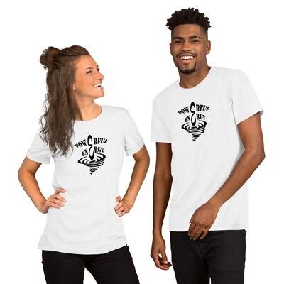 Duality's Masquerade:  T-shirt - Premium 100% Cotton. Black on White.