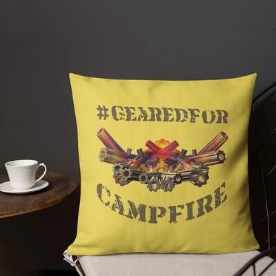 #GearedFor Campfire 1: Square Premium Pillow