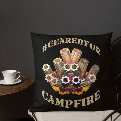 #GearedFor Campfire (2): Square Premium Pillow