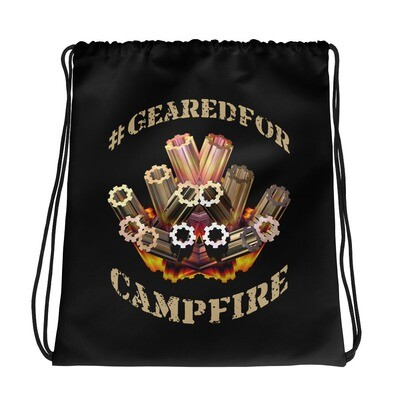 #GearedFor Campfire 2: Bag - Big Drawstring