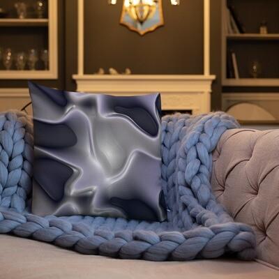 Antique Silver: Square Premium Pillow